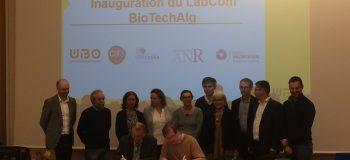 Inauguration Lab Biotech - Ouest Valorisation