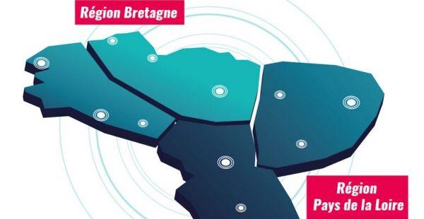 Carte régions - Ouest Valorisation