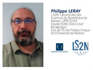 Philippe Leray, laboratoire LS2N