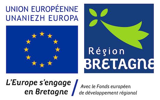 Logo FEDER Bretagne