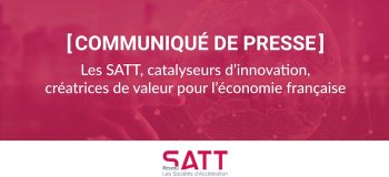 SATT, catalyseurs innovation
