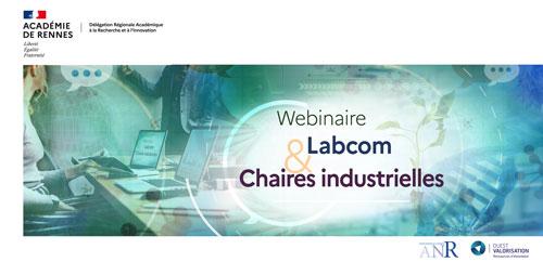 Webinaire Labcom & Chaire industrielle Save The Date